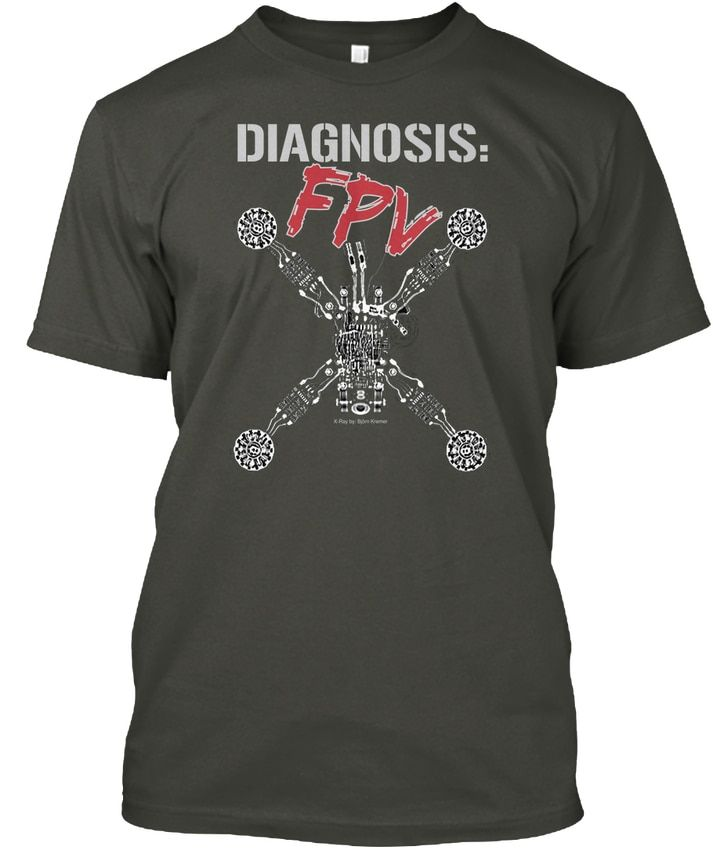 Fpv Quadcopter X-ray - Diagnosis Popular Tagless Tee T-Shirt