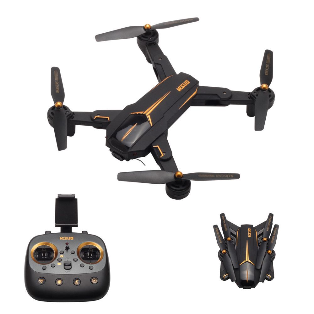 VISUO XS812 GPS RC Drone with 2MP/5MP Camera 5G WiFi GPS Positoning RC Helicopter Altitude Hold Foldable RC Quadcopter VS XS809S