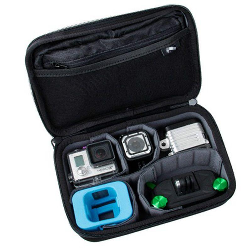 Для GoPro Hero4 Session Casey сумка для хранения коллекцией чехол для Hero 5 4 3 + 3 2 SJCAM SJ4000 sj5000 Xiaomi Yi 4 К действие Камера