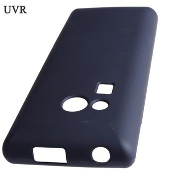 UVR Matte Soft TPU Gel Case For Nokia 216 Case Dual SIM For Nokia Lumia 216 Cover Phone Cases Free Shipping