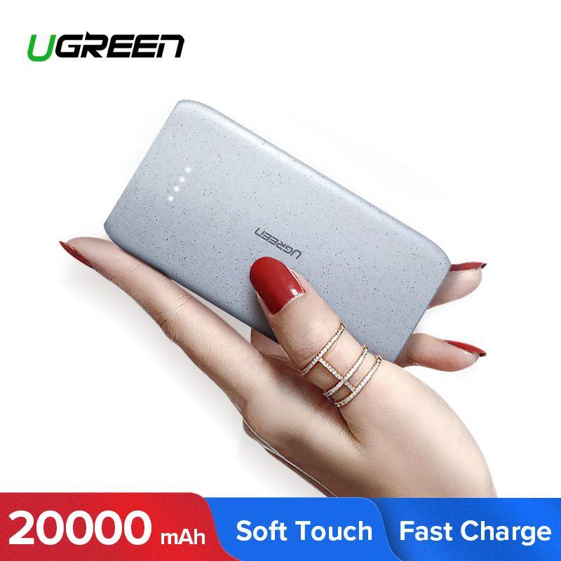 Ugreen batterie externe 20000 mAh Portable charge banque de pauvreté externe pour Xiao mi mi 8 batterie de téléphone Portable banque d'alimentation de chargeur 20000 mAh