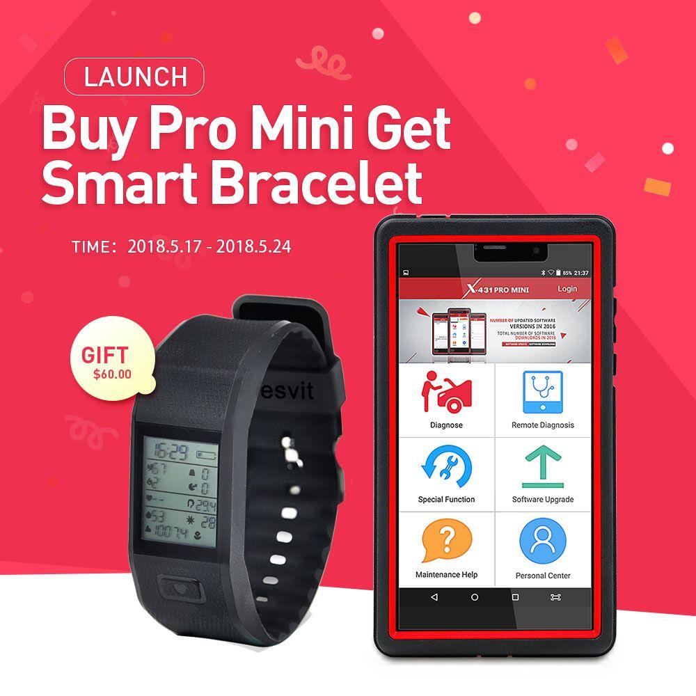 PRODUKTEINFÜHRUNG X431 Pro Mini Bluetooth/Wifi Volle ECU selbstdiagnosewerkzeug mit 2 jahr freies update Launch X-431 Pro Vor Mini Scan Werkzeuge