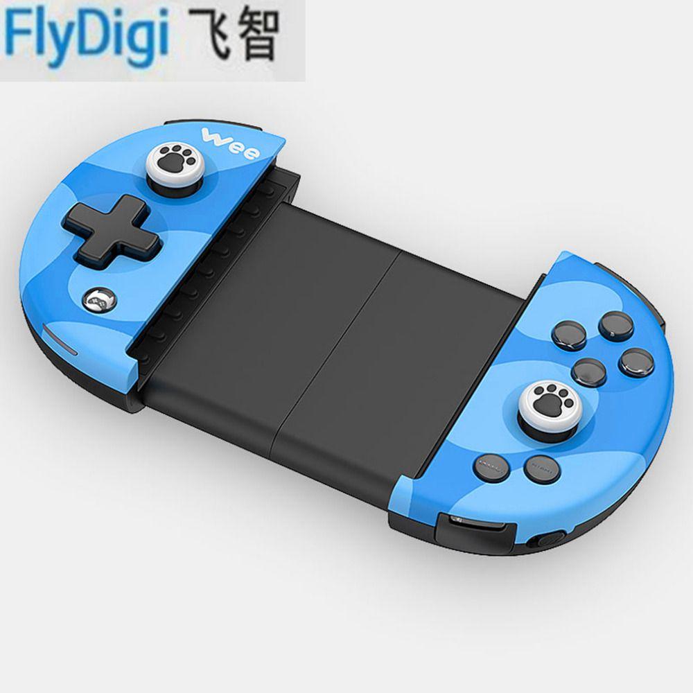 Flydigi Ви Беспроводной Bluetooth 4.0 игровой контроллер Регулируемый для IOS для Android Пуговицы противоскользящие растяжения дистанционного джойстик