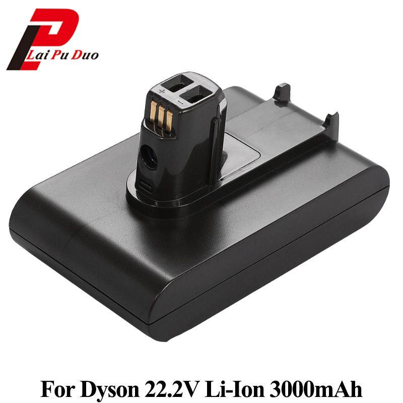 22.2 V 3000 mAh Li-ion batterie de remplacement pour aspirateur à main Dyson DC31 DC34 DC35 DC44 DC45 917083-01 Type A
