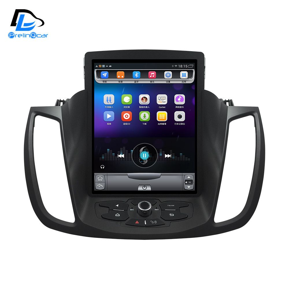 4G Lte 32G ROM Vertikale bildschirm android-system multimedia-video-radio-player für ford kuga 2013-2016 jahre navigation stereo