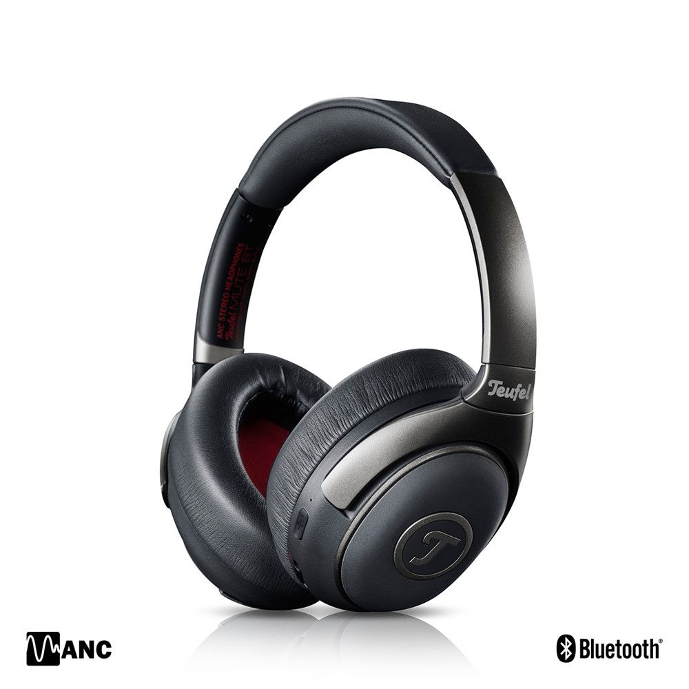 Original Teufel MUTE BT Bluetooth Active Noise Cancelling Headphone Closed HD Support aptX Wireless ANC Headset