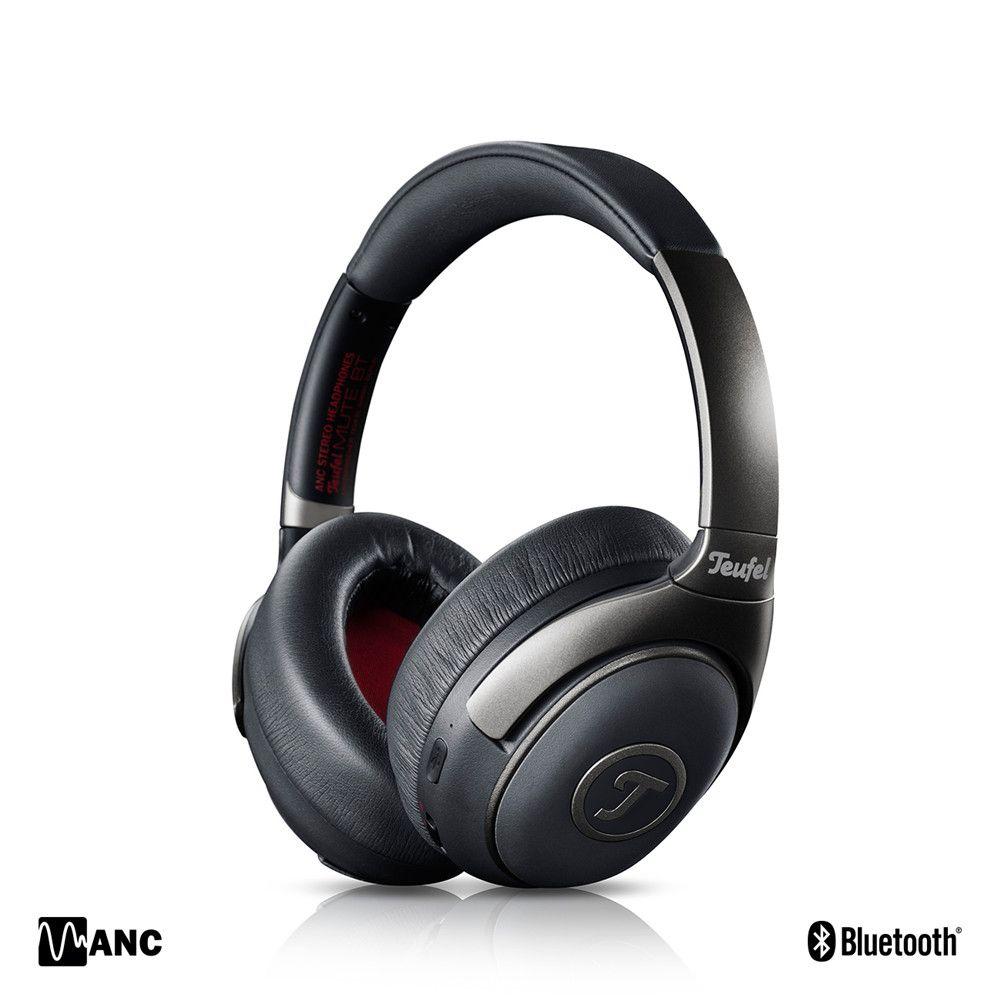 Original Teufel MUTE BT Bluetooth Active Noise Cancelling Headphone Closed HD Support aptX Wireless ANC Headset