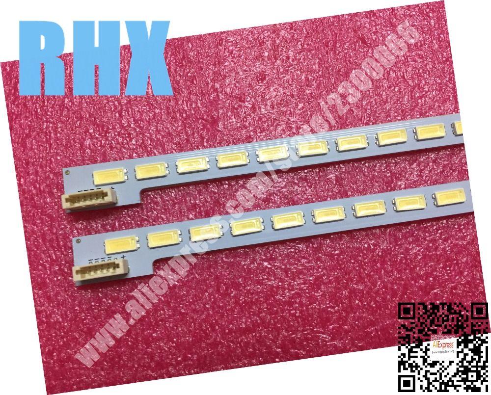 Für ersetzen LCD TV LED-Backlight LTA460HQ18 SSL460-3E1C LJ64-03471A 2012SGS46 7030L 64 REV1.0 1 stück = 64LED 570 MM ist neue