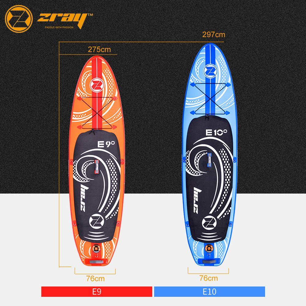 Neue design Zray E9 E10 aufblasbare sup stand up paddle board surfen bord
