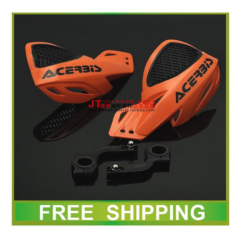 Livraison gratuite 110cc 125cc dirt bike pit bike moto accessoires de cycle 22mm 28mm guidon ktm crf yzf ttr moto cross hand guard