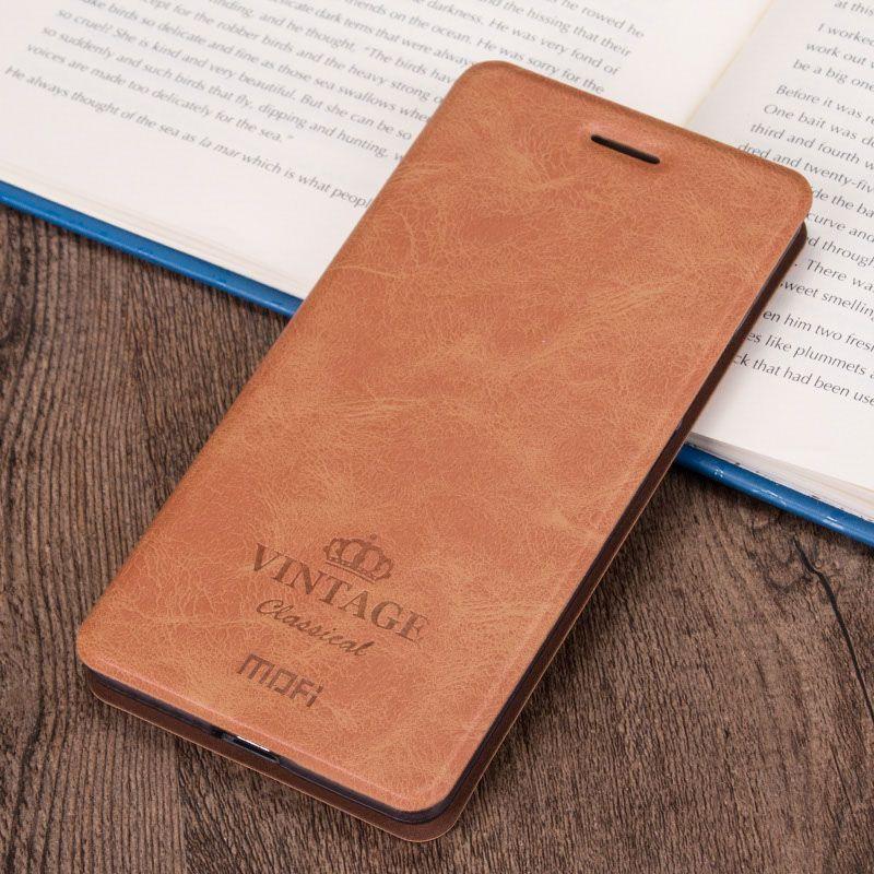 Étui en cuir PU de haute qualité pour Xiaomi Redmi 3X étui de protection pour téléphone avec support