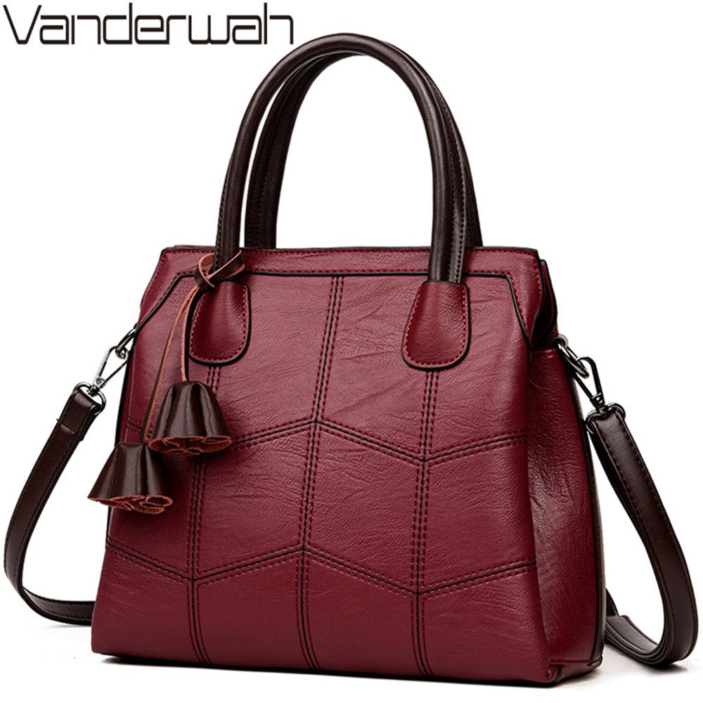 Luxury Handbags Women Bags Designer Genuine Leather Handbags Sac A Main Women Shoulder Crossbody Messenger Bag Casual Tote Sac