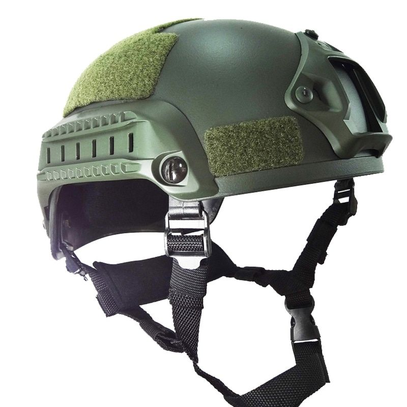 Military Tactical Airsoft H Paintball Mich 2001 Helmet ABS Plastic CS Combat Helmets Head Protector Equipment Accessories