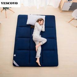 Tidur Karpet Tatami Kasur Pad Dilipat Lantai Karpet Malas Tidur Tikar untuk Kamar Tidur dan Kantor