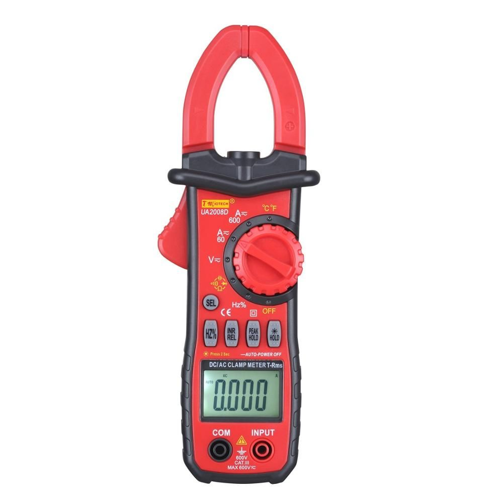 600A Digital Multimeter DC AC Current Tester Clamp Meter for Testing Resistance Voltage Diode Capacitance CE Certified