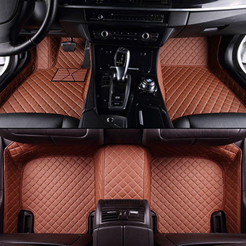 Custom car floor mats for BMW all models e30 e34 e36 e39 e46 e60 e90 f10 f30 x3 x5 x6 car accessories auto styling floor mat