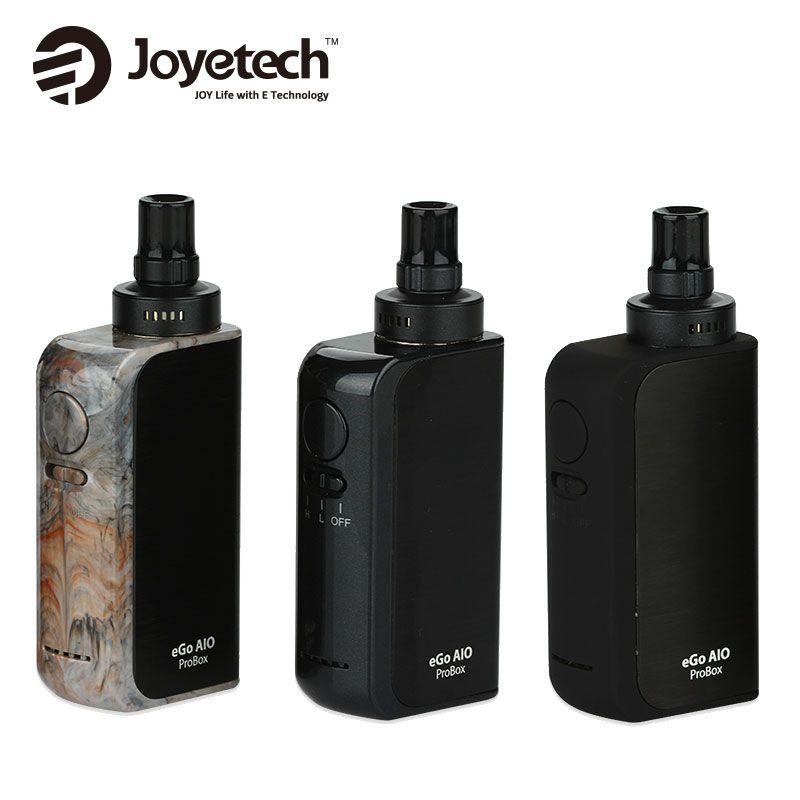 100% Original Joyetech eGo AIO ProBox Kit <font><b>2100mAh</b></font> 2ml aio pro Box All In One Vape Kit Starter Kit Electronic Cigarette Probox
