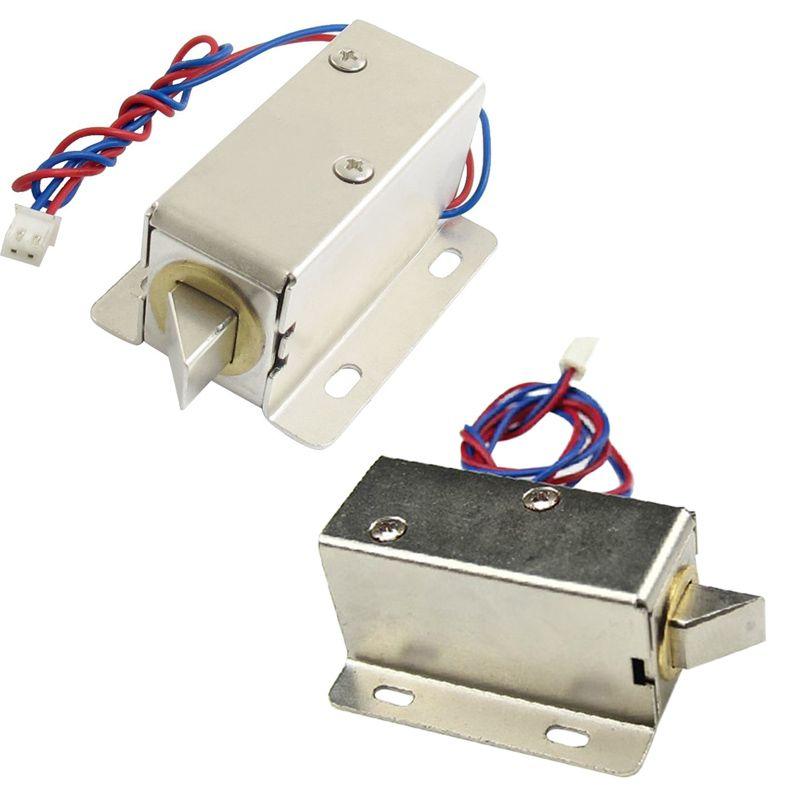 DC 12V/24V Open Frame Type Solenoid for Electric Door Lock LCC77