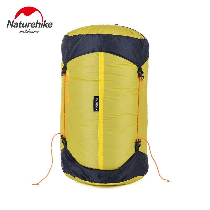 NatureHike Außen Schlafsack Sack Pack Kompressionspacksack 20D Silikon Wasserdichte Lagerung Tragetasche Für Camping Wandern