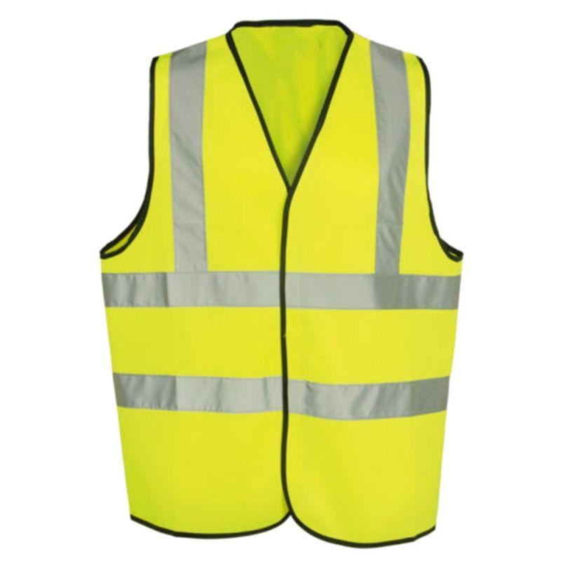 Outdoor Training Sicherheits Lauf Grün/Orange Rennen Weste Hohe Sichtbarkeit Reflektierende Fluoreszierenden Weste Kleidung
