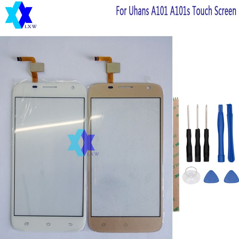 For Uhans A101 A101s Touch Screen 5.0 inch Tools + Adhesive Stock
