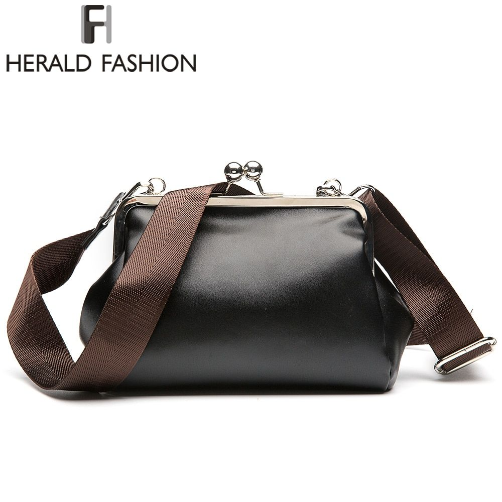 2017 Vintage Brand Women Messenger Bag Small Clutch Shoulder Bag PU Leather Women Handbags Casual CrossBody Bag Retro Pouch New