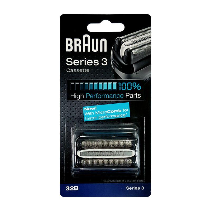 32B shaver Head Braun Braun series 3 Foil Cutter for Series 3 Shavers(320 330 340 350CC 360 370 380 390CC 5774 5775 5776)