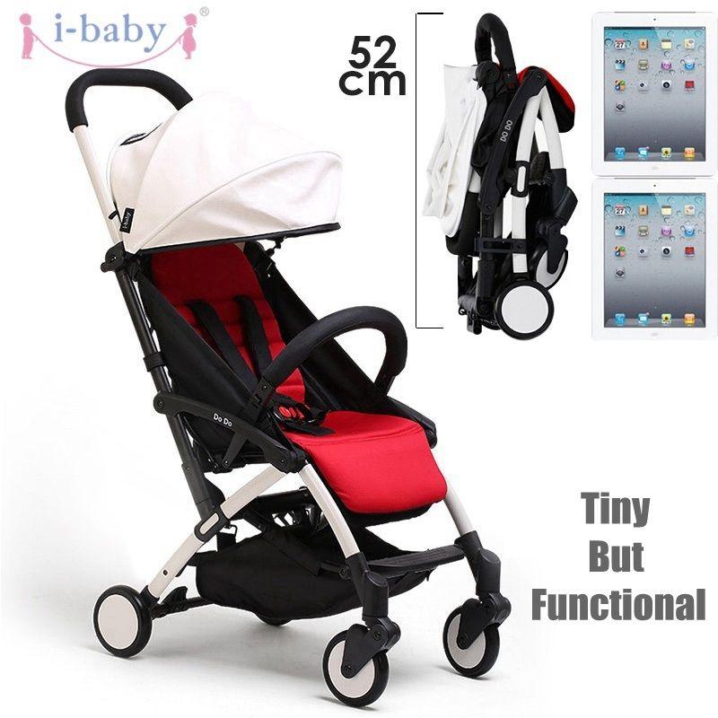 i-baby DoDo Lightweight Stroller Baby Stroller High Landscape Portable Foldable Baby Pram Pushchairs Kinderwagen