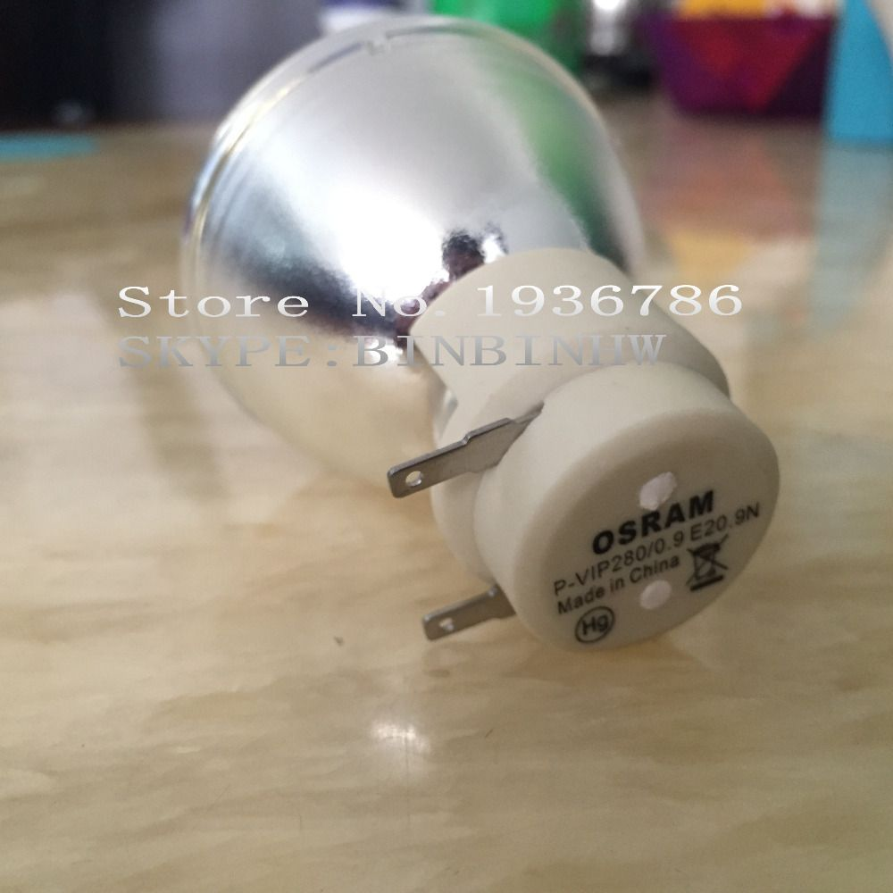 ORIGINAL PROJECTOR LAMP BULB / LAMP FIT Osram P-VIP 280/0.9 E20.9 VIP 280/0.9 E 20.9 for OPTOMA EX779 180days warranty