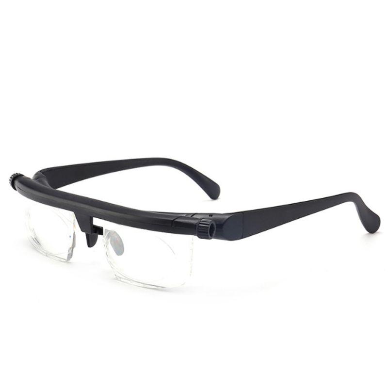 Reading Glasses Adjustable Strength Lens Reading Myopia Glasses Eyewear Variable Focus Vision