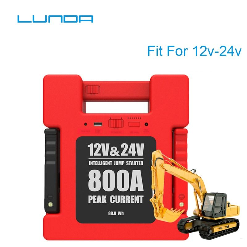 LUNDA Auto Starthilfe Batterie Tragbare ladegerät Power bank mit 24000 mah Kapazität für 12 v/24 Volt Benzin und Diesel Fahrzeug