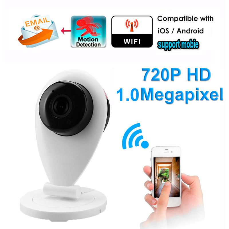 New CCTV Wifi Baby Monitor Wireless IP Camera P2P HD 720P Wireless Network Security Smart Home Mobile Remote Camera Wi fi Camera