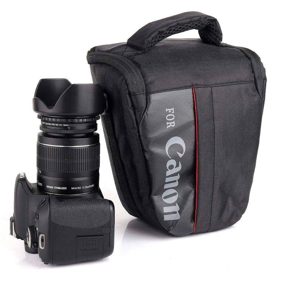 Étui de caméra étanche Sac Pour Canon 1300D 1100D 1200D 100D 200D REFLEX NUMÉRIQUE EOS Rebel T3i T4i T5 T5i T3 600D 700D 760D 750D 550D 500D