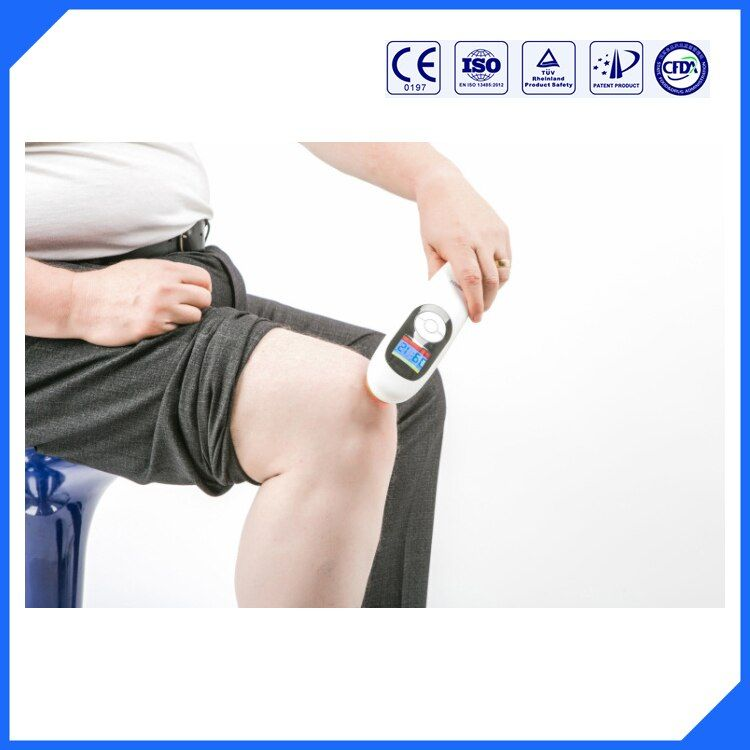 LASPOT 650nm and 808nm cold laser physical therapy handy cure device back pain/neck pain/shoulder pain relief