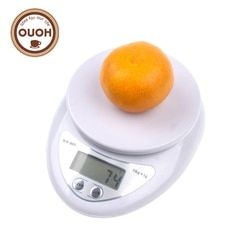 5000g/1G 5 kg LED electrónico alimentación dieta Postal Escala de Cocina Digital escalas herramientas de cocina peso de Balance ponderación MCT-17