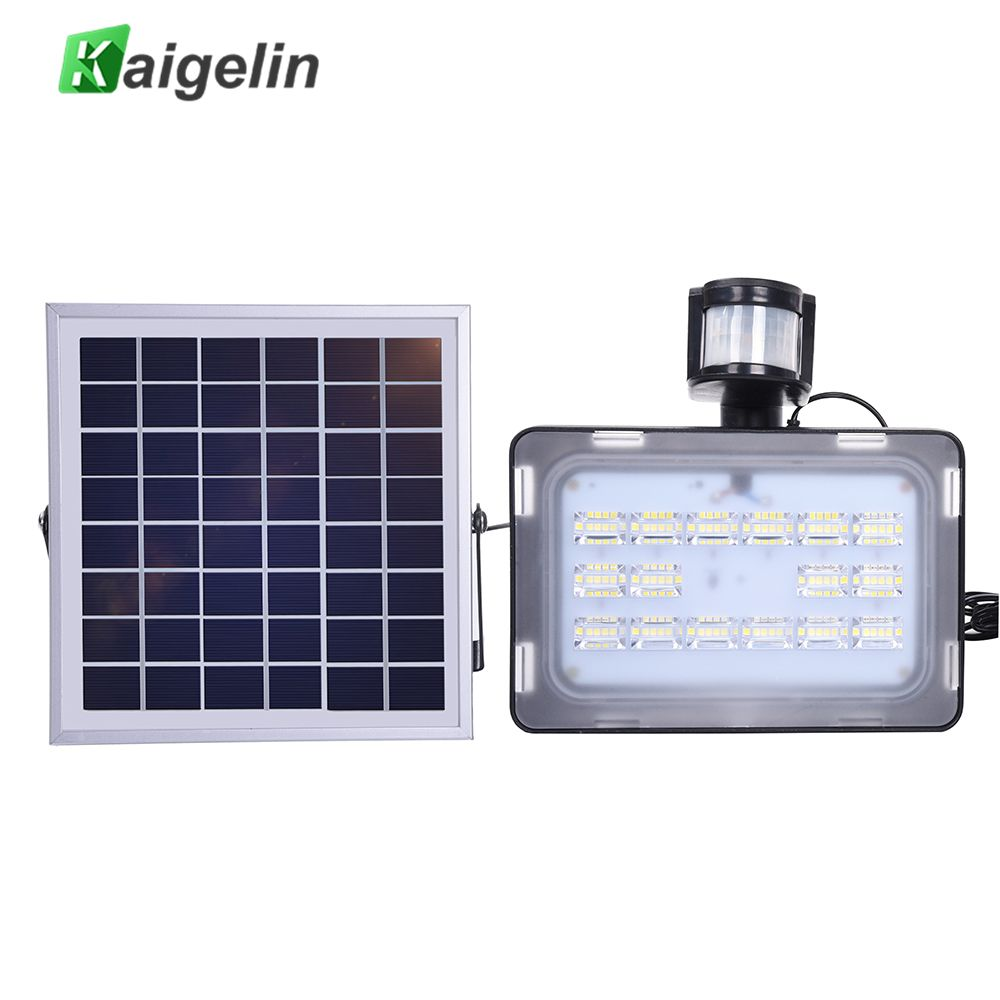 10/20/30/50W 12V PIR Solar Motion Sensor Induction Sense LED Flood Light Solar Lamp IP65 SMD2835 Solar Powered LED Floodlight