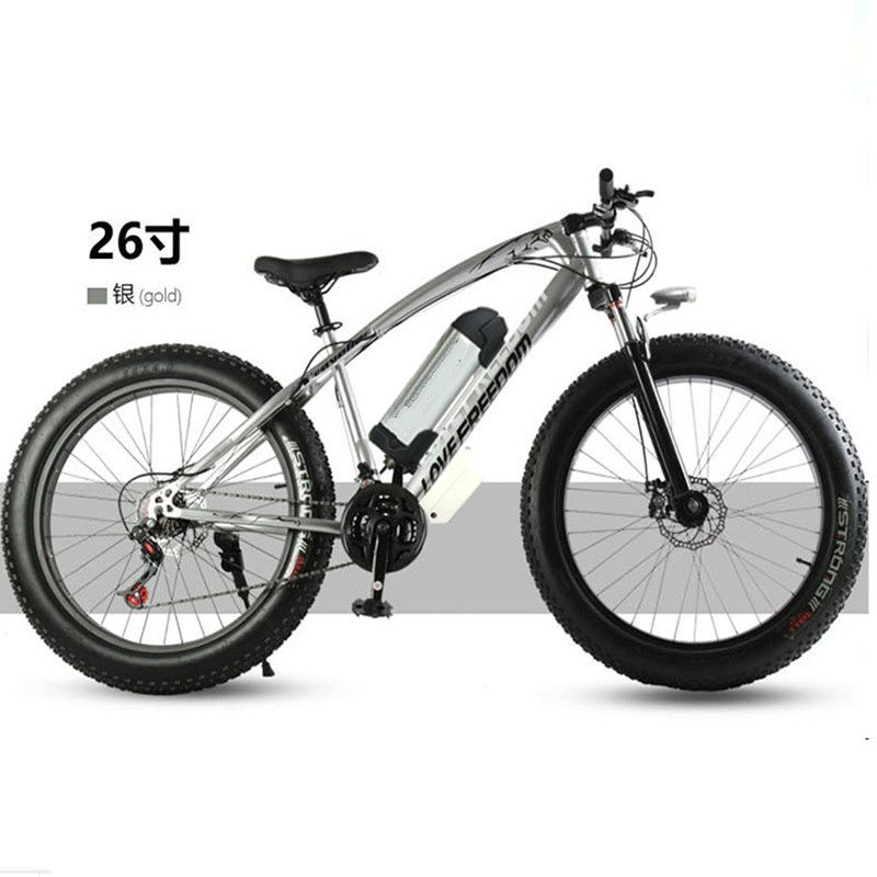 Electric bicycle 36V 10.8ah 350W 7 speed powerful electric bicycle lithium battery electric bicycle 26