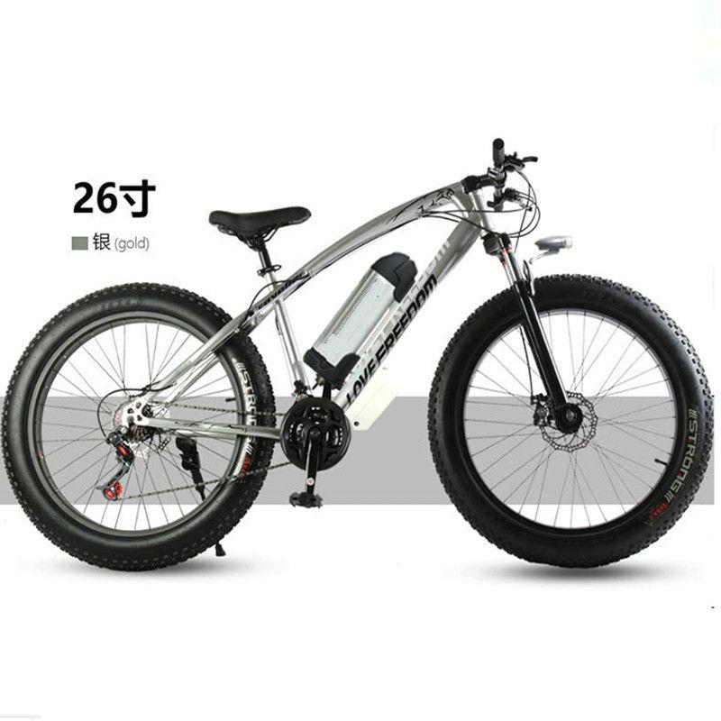 Elektro-fahrrad 36 V 10.8ah 350 Watt 7 speed leistungsstarke elektrische fahrrad lithium-batterie elektro-fahrrad 26