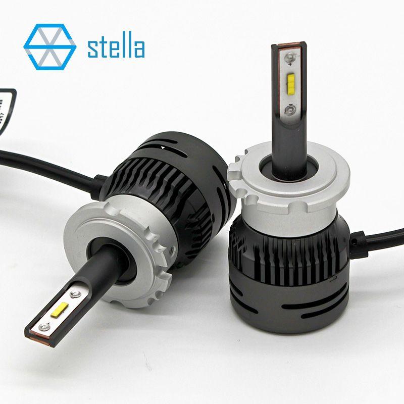 D1/D2/D3/D4 led bulbs for cars 6000k auto headlight/fog light 95% canbus super bright auto led lamp small size lifetime warranty