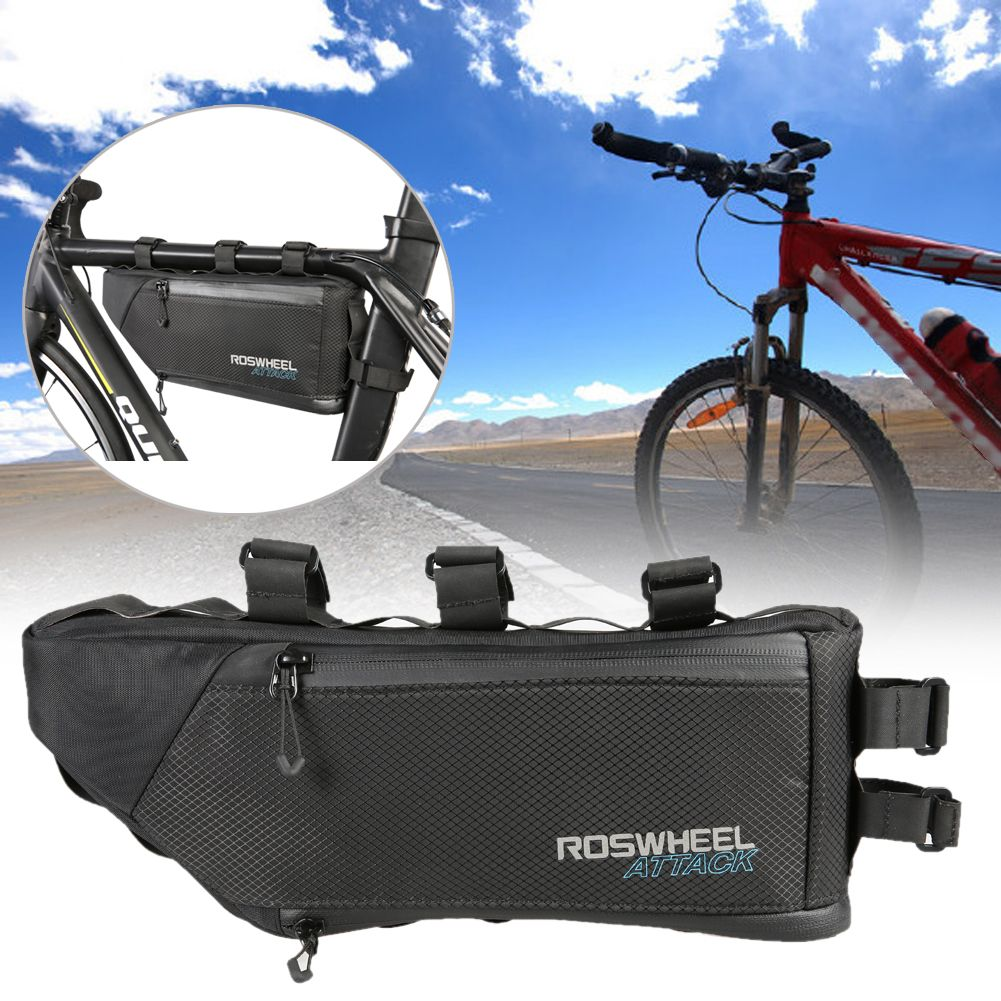 4L Waterproof Bicycle Bike Bag Accessories Storage Frame Tube Triangle Cycling Front Bag for A Bike Bisiklet Aksesuar