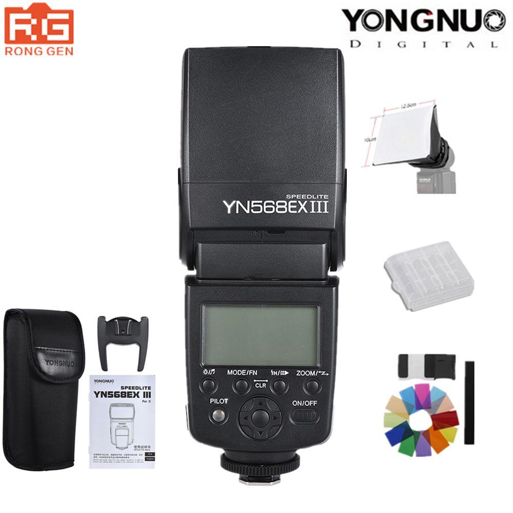 YONGNUO YN568EX III YN-568EX III TTL Wireless HSS Flash Speedlite for Canon Nikon DSLR Camera Compatible YN600EX-RT II YN568EXII