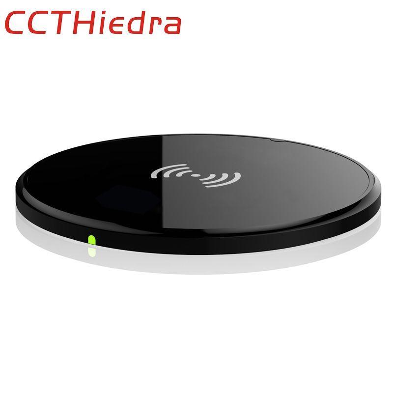Ccthiedra бренд для Samsung Galaxy S8 S7 Motorola Droid Turbo Google Nexus 4/5 Lumia 920 5 В 1A адаптер QI беспроводной Зарядное устройство зарядки