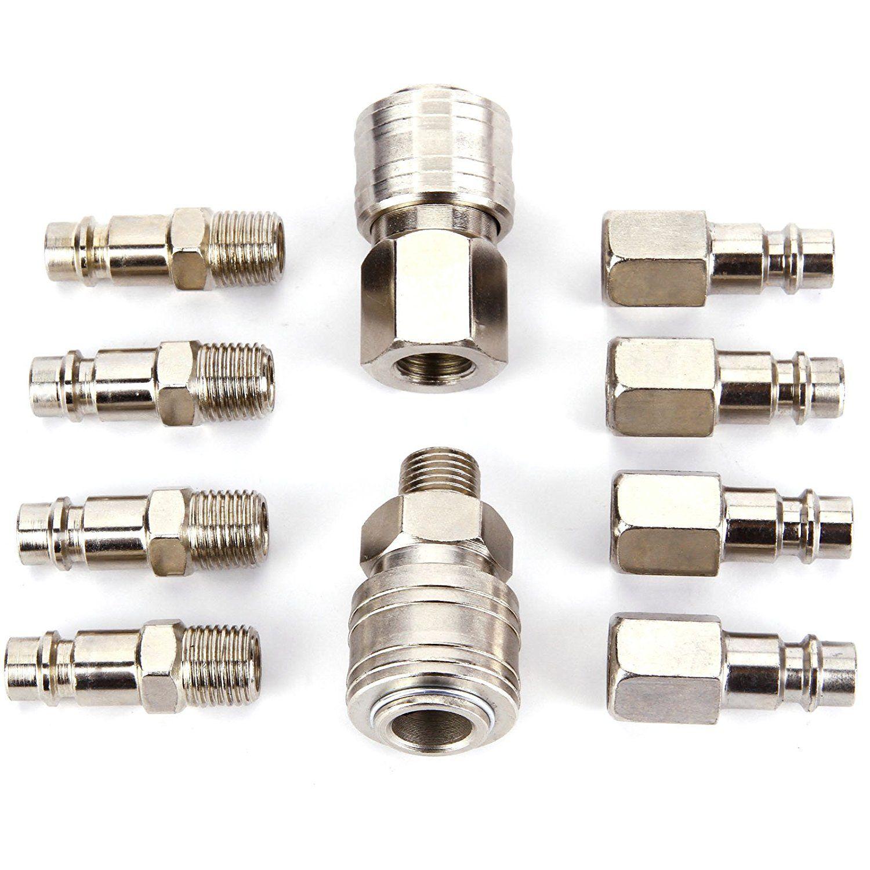 High Quality 10 x Coupler Quick Coupler Pneumatic Compressor Pump System European Form