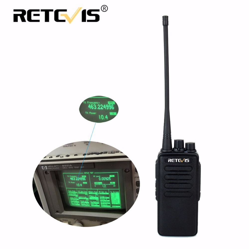 10W Professional Walkie Talkie Retevis RT1 VHF (or UHF) 16CH 3000mAh Battery VOX Scan Scrambler 1750Hz Long Range Two Way Radio