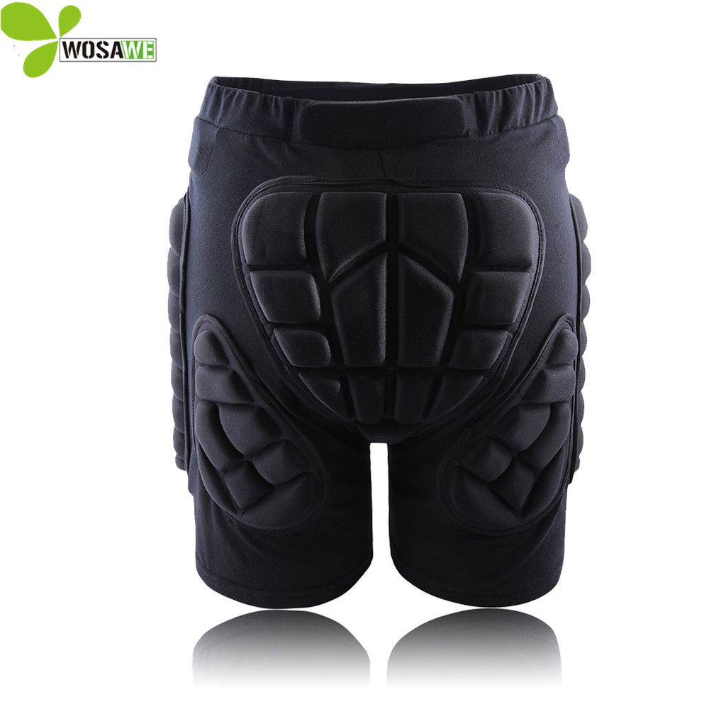 WOSAWE Hip Butt De Protection Court Pad Ski Skate Snowboard Ski Shorts Rouleau Rembourré Protection Gear Racing Body Armor Shorts