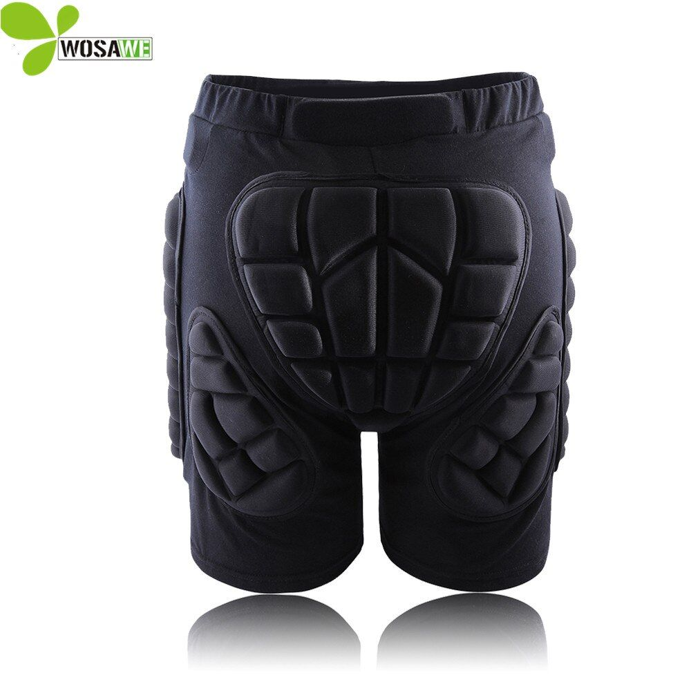 WOSAWE Hip Butt De Protection Court Pad Ski Skate Snowboard Ski Shorts Rouleau Rembourré Protection Gear Racing Body Armor Shorts