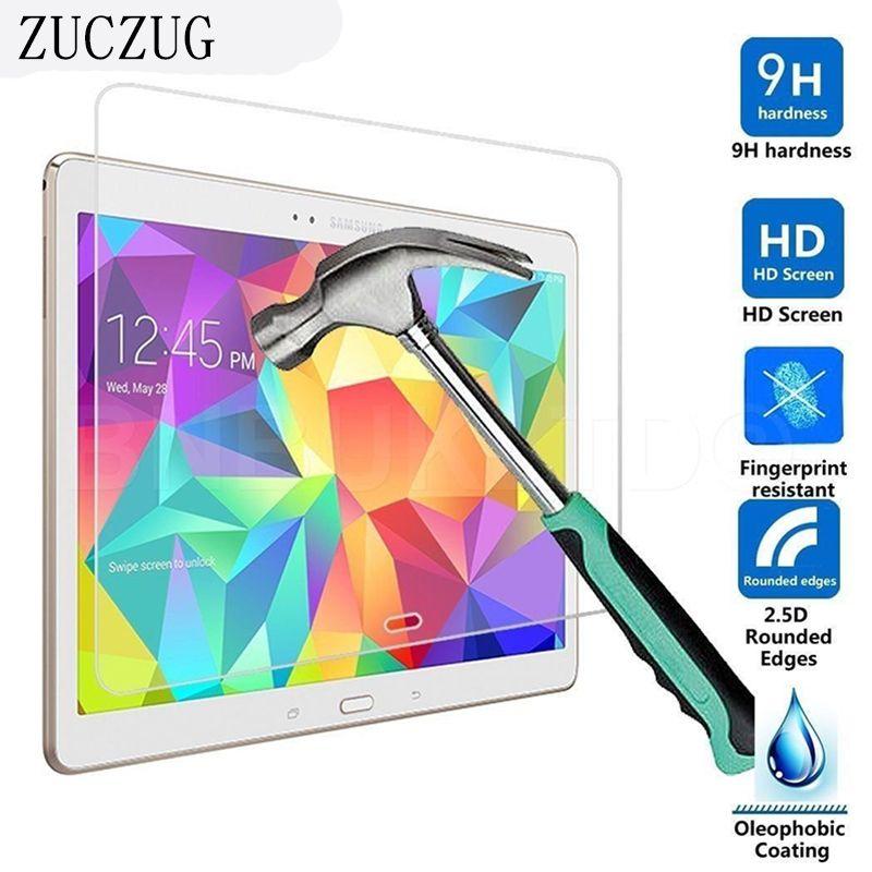 Dur Transparent Protecteur D'écran En Verre Trempé pour Samsung Galaxy Tab 4 T530 10.1 pouces Écran Protection