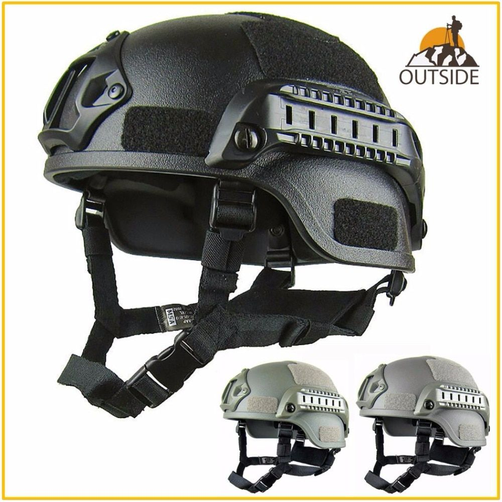 Quality Lightweight FAST Helmet MICH2000 Airsoft MH Tactical Helmet Outdoor Tactical Painball CS SWAT Riding Protect Equipment