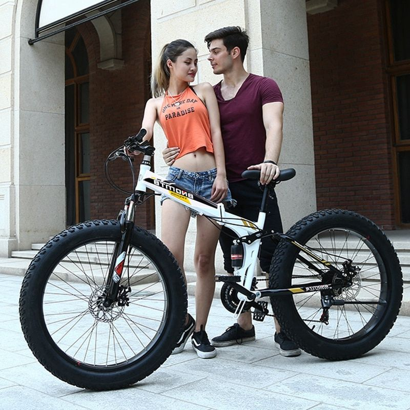 (Only for Russia) High-Quality Folding Bicycle 26 inches 7 Speed 21 Speed 26x4.0