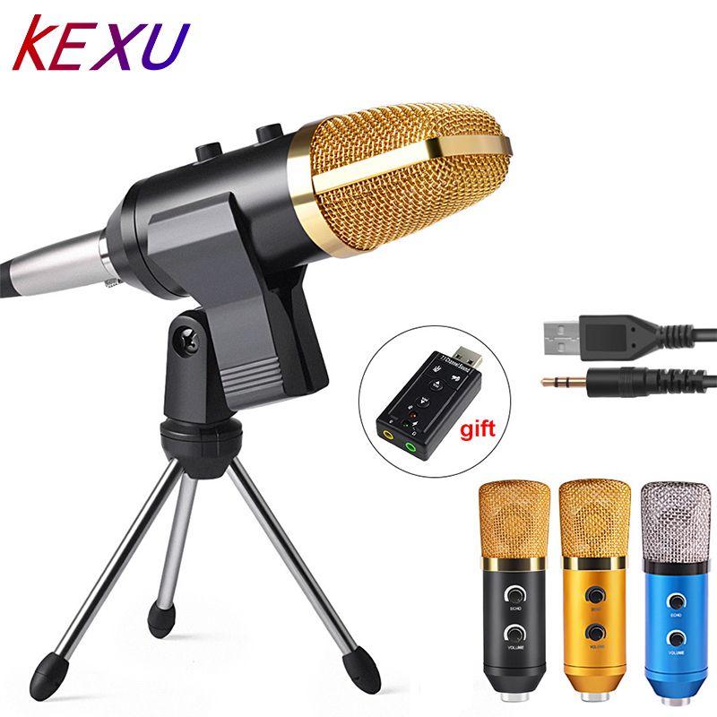 ML-F100TL USB condensateur Microphone professionnel Microphone pour enregistrement vidéo karaoké Radio Studio Microphone pour ordinateur PC